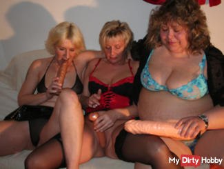 group of horny women