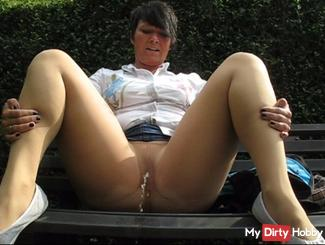 Taken outdoor in the tights (NS)