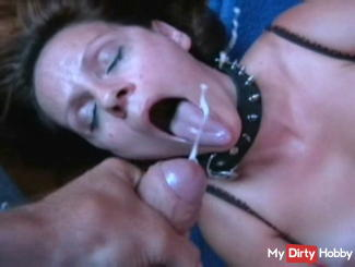 Inoculated in the mouth