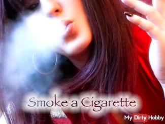 Sexy Smoke a Cigarette