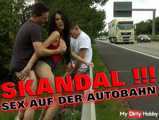 SCANDAL! SEX ON THE PUBLIC HIGHWAY