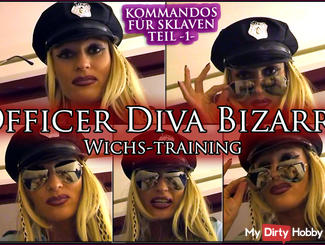 Officer Diva Bizarre - Wichs training for slaves, Part 1