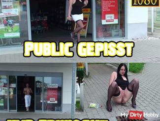 Public pissing and catches