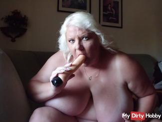 Sexy dildo very horny
