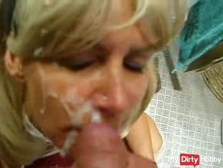 Mega Cumshot in the face