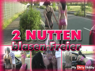 2 cheap street whores free blow from