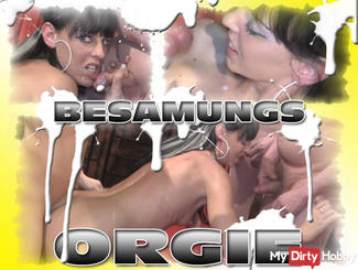 THE ORGY CREAMPIE