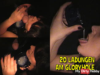 20 LOADS AT THE GLORYHOLE - PART 1