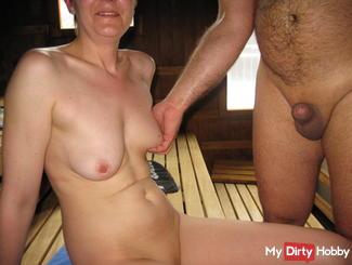 In der Sauna mit einen Guten Freund