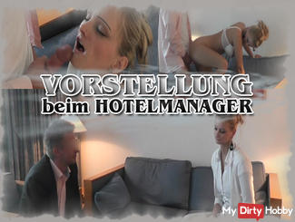 Interview with the HOTEL MANAGER
