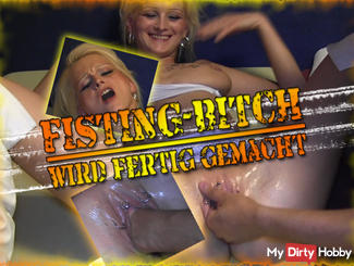 FISTING-BITCH is made ready