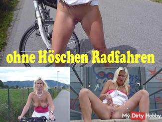 Cycling without panties