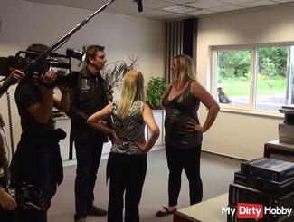TV station filmed