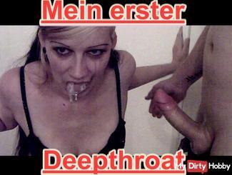 Deepthroat-Bis die Tränen kommen
