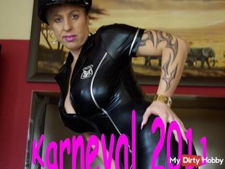 Mein **Komm – fi** – MICH – Dress** für den Karneval 2011!!