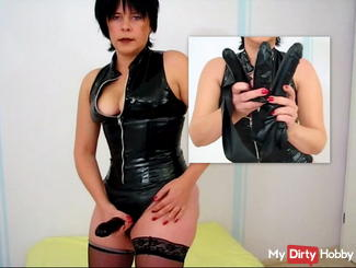 Latex panties 2 for me and 1 for you