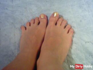 Foot fetish. I lakier my toenails