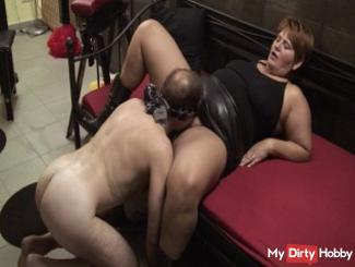 Slave must lick ...