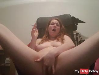 Masturbation while smoking