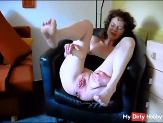 Asshole and pussy stuffed!