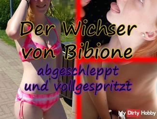 The wanker Bibione - Towed and Vollgespritzt
