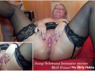Jung-tail inseminated my milf pussy!