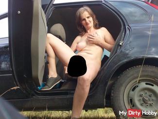 masturbation im auto