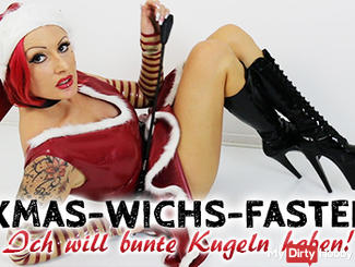 XMAS wank fasting! I want to have colorful balls!