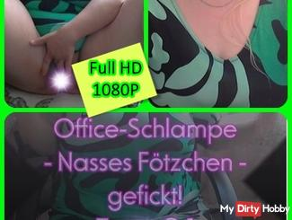 Office bitch - Wet pussy - fucked! Tape 0.1