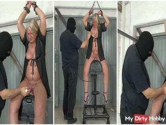Rosella in Amateur Extreme! Hard Sybian ride! Part 1