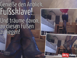 Be my foot slave