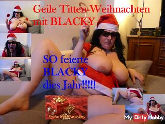 Merry Christmas with Blacky