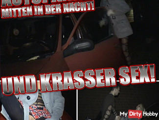 CAR BREAKDOWN IN THE MIDDLE OF THE NIGHT! Krasser SEX!