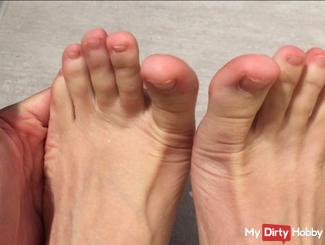 The sweet creme de la creme feet