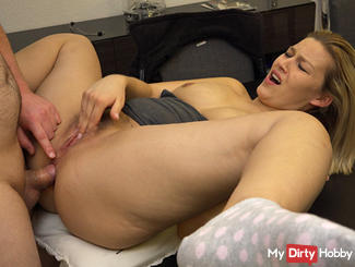 DOUBLE orgasm during anal sex !!!