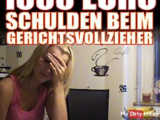 1000 € SCHULDEN BEIM GERICHTSVOLLZIEHER!(Rollenspiel)