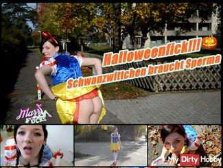 Tail Wittchen needs sperm !!! Halloweensfick !!!