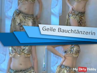 Horny belly dancer