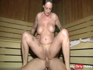 fucked in the sauna
