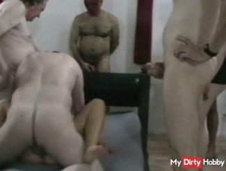 My First Gang Bang Ao, creampie Part 2