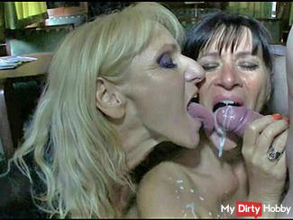 2 Swiss sluts in Orient-Express abficken by a guest