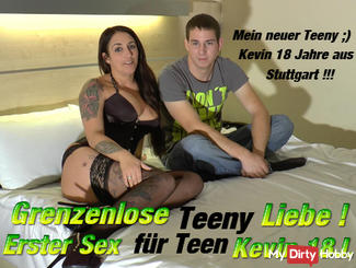 Boundless Teeny Love! First sex for Kevin J. 18