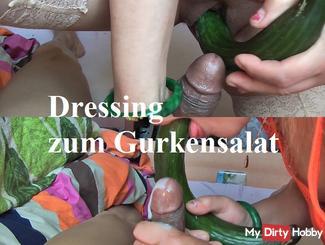 Dressing for cucumber salad