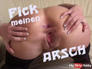 Sie fickt ihn mit dem Strap-on in den Arsch -