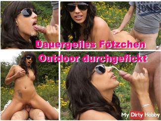 Duration hot pussy fucked outdoor