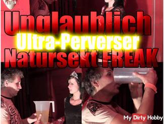 Incredibly ultra pervert Pee Freak
