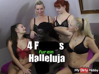 4 fo**en für ein Halleluja