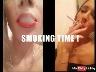 smoking time !