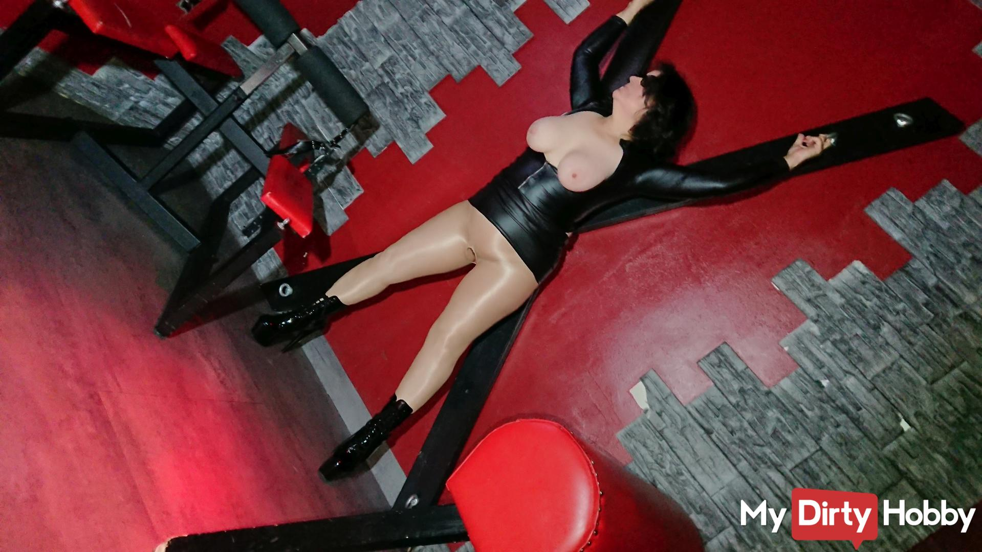 Sexy men dominated by women latex