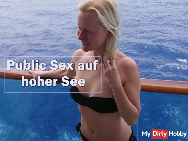 Public fuck on the high seas